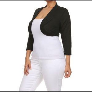 Unbranded Sweaters - Black Shrug